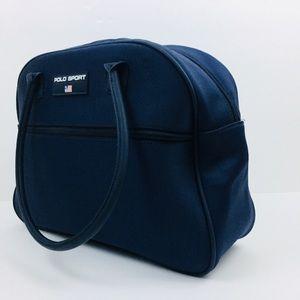 Polo by Ralph Lauren Bags - Polo Sport Ralph Lauren Blue Travel overnight  Bag 11e82f5ab248e